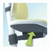 Maximo Adjustable Desk Chair - Lime Green