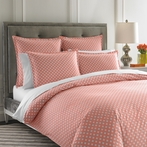 Mayfair Coral Duvet Cover
