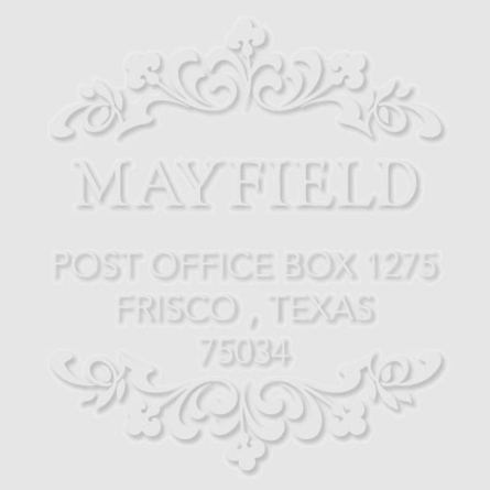 Mayfield Personalized Embosser