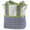 Maze Blue Tote Diaper Bag