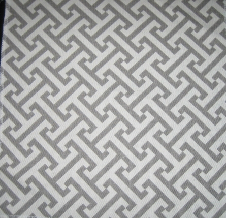 Maze Gray Fabric by the Yard