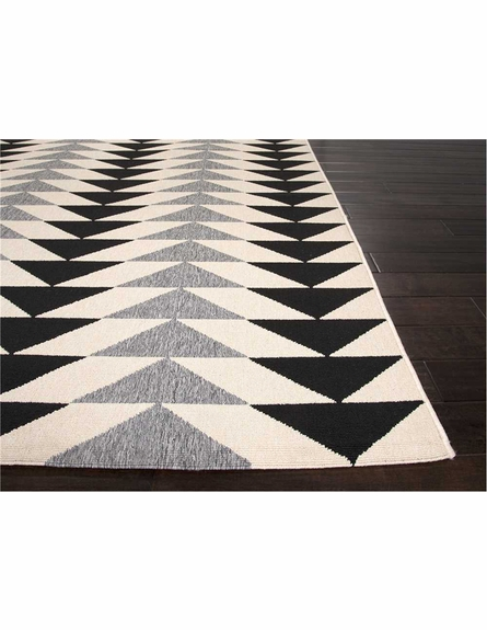McKenzie Rug in Black and Gray