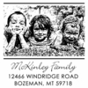McKinley Photo Personalized Self-Inking Stamp