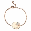 Medal Star Lovely Bracelet in Gold Plated
