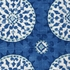 Medallion Blue Throw Pillow - Square