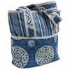 Medallion Blue Tote Diaper Bag