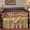 Medallion Pink Crib Bedding Set