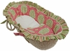 Medallion Pink Moses Basket