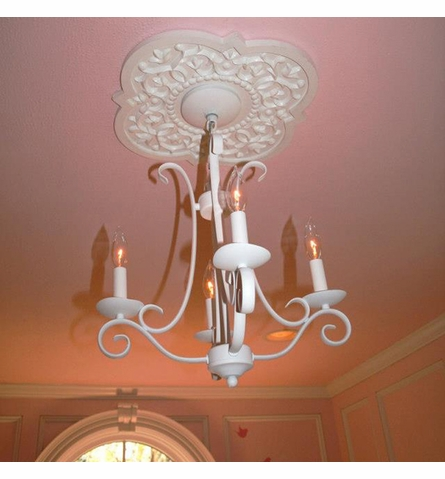Mediterranean Vines Chandelier Medallion