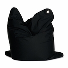 Medium Bull Black Bean Bag Chair