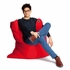 Medium Bull Flame Red Bean Bag Chair
