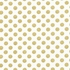 Medium Gold Dot Crib Sheet