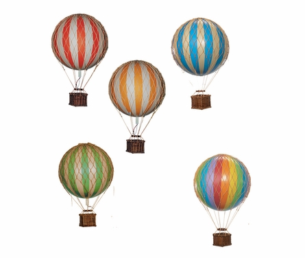 Medium Hot Air Balloon Model in Yellow