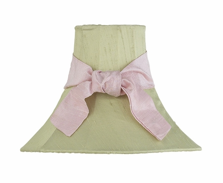 Medium Bell Lamp Shade with Sash