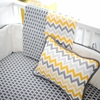 Mellow Yellow Chevron Baby Blanket