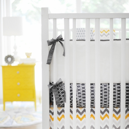 Mellow Yellow Crib Bedding Set