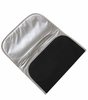 Memory Foam Changing Pad in Black Silver