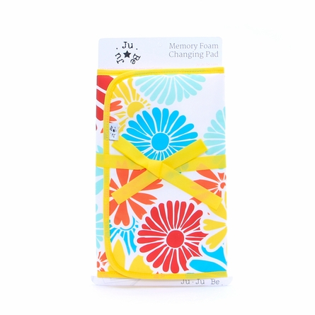 Memory Foam Changing Pad in Flower Power
