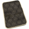 Memory Foam Changing Pad in Licorice Twirl