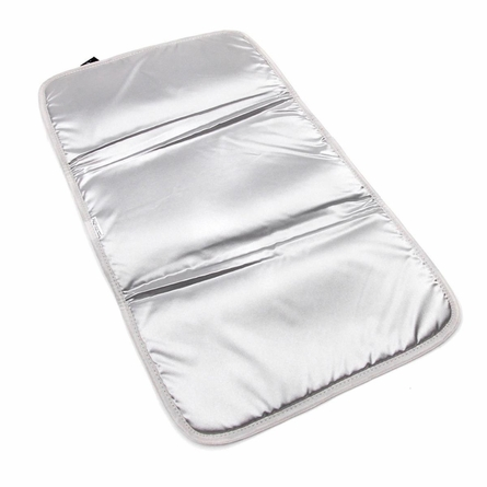 Memory Foam Changing Pad in Mister Gray