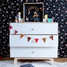 Merlin 3-Drawer Dresser with Sparrow Base