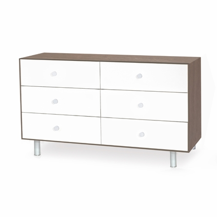 Merlin 6 Drawer Dresser with Classic Base