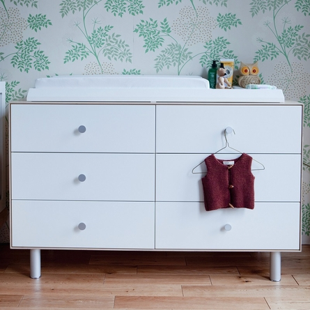 Merlin 6-Drawer Dresser with Rhea Base