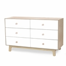Merlin 6 Drawer Dresser with Sparrow Base