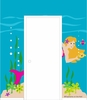 Mermaid Doorhugger Paint by Number Wall Mural