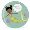 Mermaid Miss Midnight Personalized Kids Plate