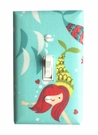 Mermaid Princess Light Switch Plate Cover