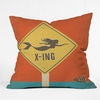 Mermaid X Ing Throw Pillow