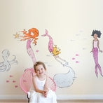 Mermaids Wall Decals