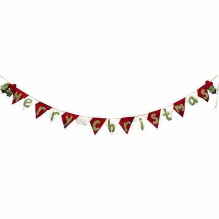 Merry Christmas Winter Holiday Flag Banner
