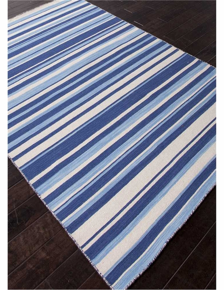 Mesa Striped Rug in Navy