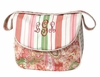 Messenger Diaper Bag in Paisley