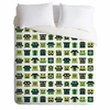 Metal Mugshots Mint Duvet Cover