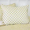 Metallic Gold Dot Pillow Sham