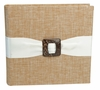 Metallic Linen Bamboo Photo Album
