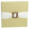 Metallic Linen Citron Photo Album