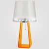 Metropolis Neon Orange LED Table Lamp