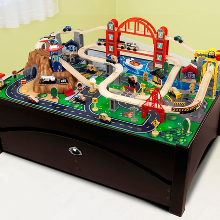 Metropolis Train Table Set