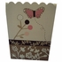 Mia Rose Hand Painted Waste Basket
