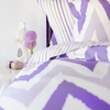 Mia Striped Flat Sheet