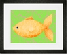 Mia the Fish Framed Art Print