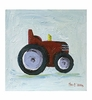 Michael the Tractor Canvas Reproduction