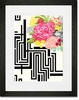 Michi Garden Framed Art Print