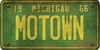 Michigan Custom License Plate Art