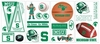 Michigan State University Peel & Stick Applique