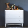 Mid-Century Dresser in French White